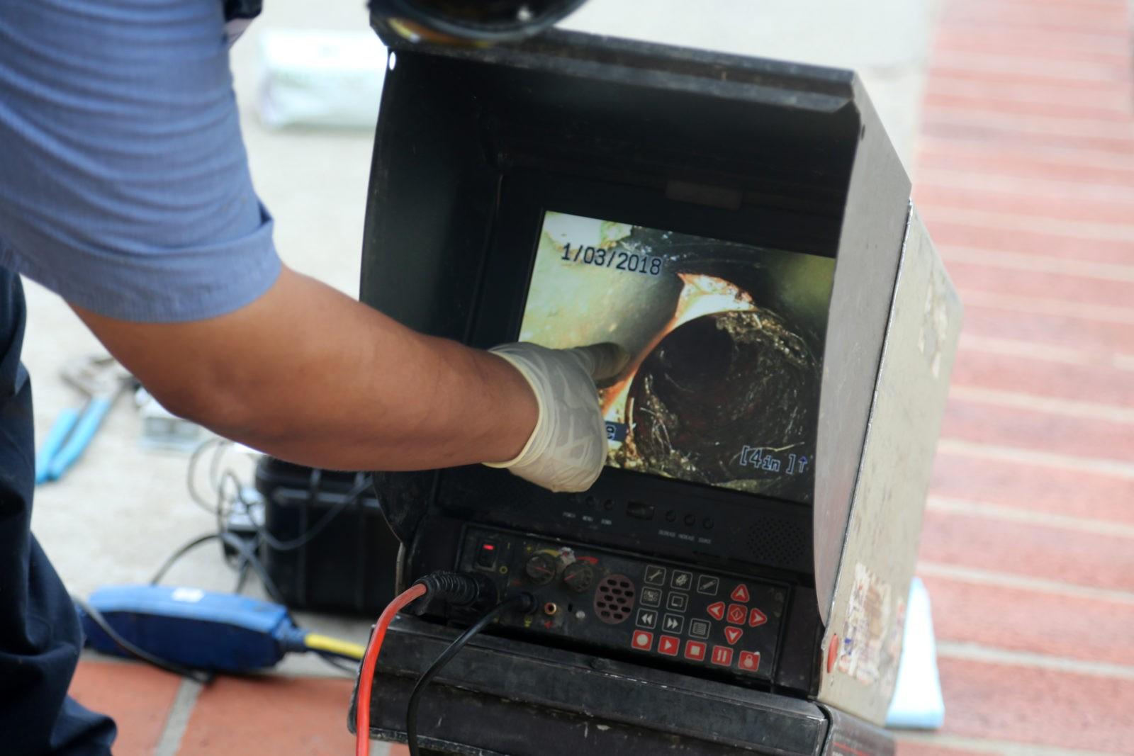 Rohrreinigung Klempner TV Kamera Inspektion - Startseite